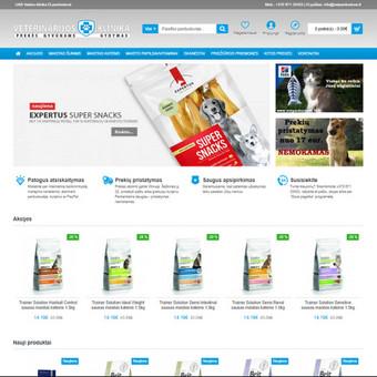 Interneto svetainių ir el.parduotuvių kūrimas, TVS, SEO / UAB TVS projektai / Darbų pavyzdys ID 667839