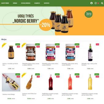 Interneto svetainių ir el.parduotuvių kūrimas, TVS, SEO / UAB TVS projektai / Darbų pavyzdys ID 667841