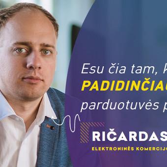 Elektroninės komercijos profesionalas ir programuotojas / Ričardas / Darbų pavyzdys ID 668137