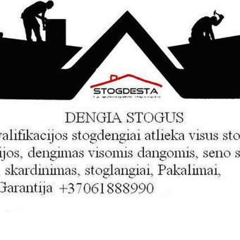 Stogdengiai, Fasadininkai, skardininkai. / UAB Stogdesta / Darbų pavyzdys ID 669877