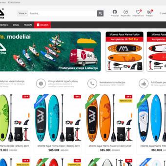 Interneto svetainių ir el.parduotuvių kūrimas, TVS, SEO / UAB TVS projektai / Darbų pavyzdys ID 670073