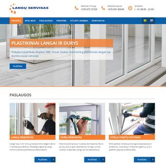 Interneto svetainių ir el.parduotuvių kūrimas, TVS, SEO / UAB TVS projektai / Darbų pavyzdys ID 670083