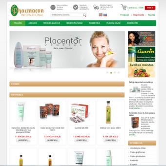 Interneto svetainių ir el.parduotuvių kūrimas, TVS, SEO / UAB TVS projektai / Darbų pavyzdys ID 670095