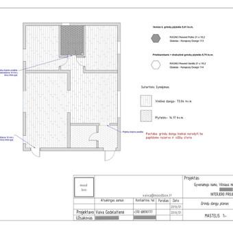 Privataus interjero projektavimas / Vaiva Godelaitienė / Darbų pavyzdys ID 670849