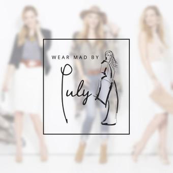 """Logotipo dizaino atnaujinimo darbai prekės ženklui """"Wear mad by July"""""""