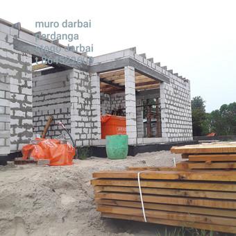 Visu tipu pamatu irengimas muras stogu darbai / Wvytas wvytautas / Darbų pavyzdys ID 672475