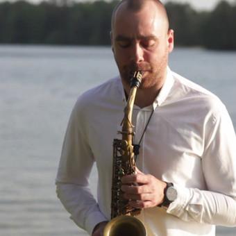 Saksofonistas / Manvydas Pratkelis / Darbų pavyzdys ID 673219
