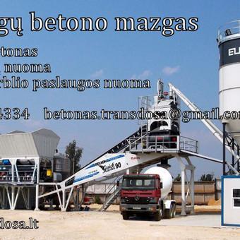 PREKINIS BETONAS / UAB TRANSDOSA / Darbų pavyzdys ID 673933