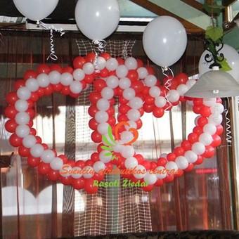 Dekoracijų iš balionų kūrimas, rasotiziedai e-parduotuvėje, prekes pristatome visoje Lietuvoje per 3-is darbo dienas