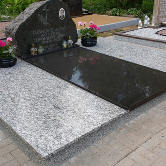 Kapų tvarkymas, granito plokštės, Paminklai, antkapiai / Paulius Latvys / Darbų pavyzdys ID 675507