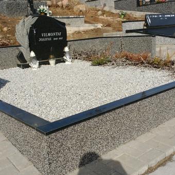 Kapų tvarkymas, granito plokštės, Paminklai, antkapiai / Paulius Latvys / Darbų pavyzdys ID 675521