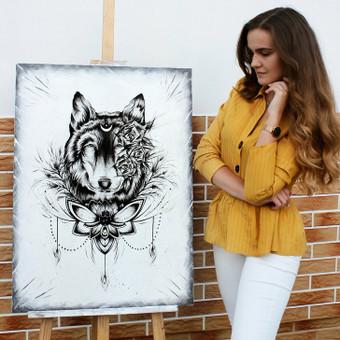 Portretų piešimas, paveikslų tapyba. / Sandra Stalmokaitė / Darbų pavyzdys ID 675697