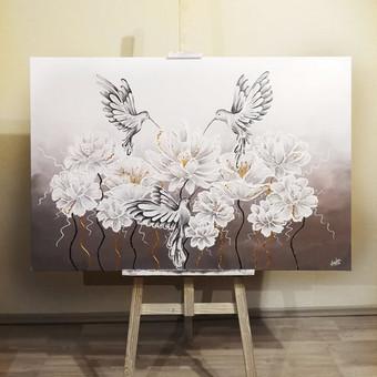 Portretų piešimas, paveikslų tapyba. / Sandra Stalmokaitė / Darbų pavyzdys ID 675705