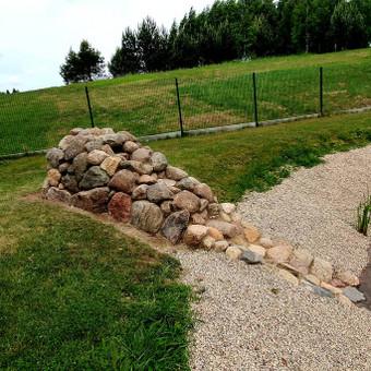 Atraminės sienelės .šlaitu .pakrančių,griovių tvirtinimas. / GeoMax / Darbų pavyzdys ID 675915