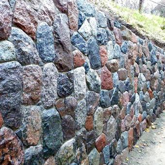 Atraminės sienelės .šlaitu .pakrančių,griovių tvirtinimas. / GeoMax / Darbų pavyzdys ID 675923