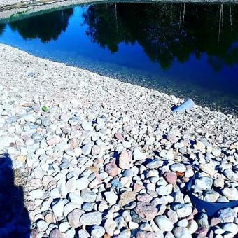Atraminės sienelės .šlaitu .pakrančių,griovių tvirtinimas. / GeoMax / Darbų pavyzdys ID 675935