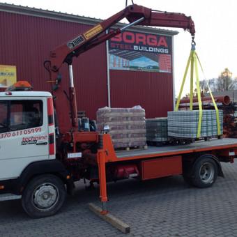 Technikos - krovinių pervežimai / Hempa Transportas / Darbų pavyzdys ID 87866