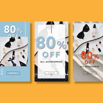 Profesionalios grafikos dizainerio paslaugos (print | web) / Aurelija Sukackė / Darbų pavyzdys ID 676903