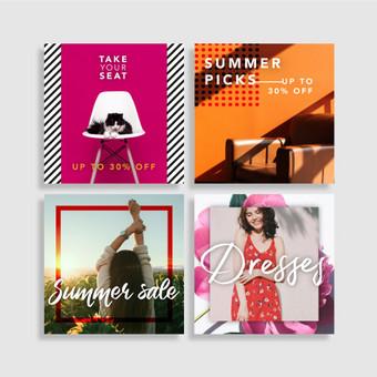 Profesionalios grafikos dizainerio paslaugos (print | web) / Aurelija Sukackė / Darbų pavyzdys ID 676905