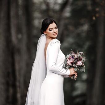 Individualus vestuvinių suknelių siuvimas / MJ Bridal Couture / Darbų pavyzdys ID 678599