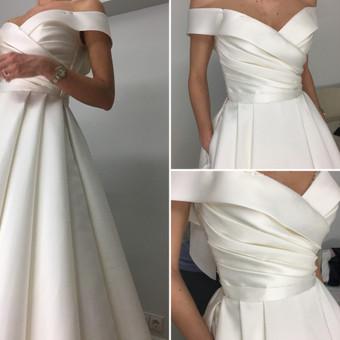 Individualus vestuvinių suknelių siuvimas / MJ Bridal Couture / Darbų pavyzdys ID 678629