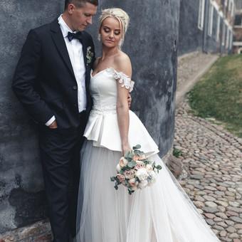Individualus vestuvinių suknelių siuvimas / MJ Bridal Couture / Darbų pavyzdys ID 678647