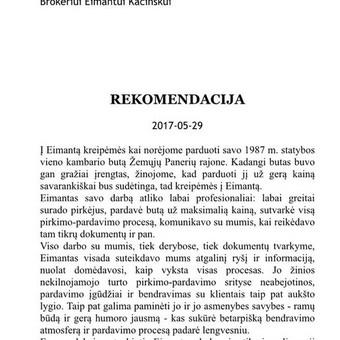 NT ekspertas Eimantas Kačinskas / Eimantas Kačinskas / Darbų pavyzdys ID 680775