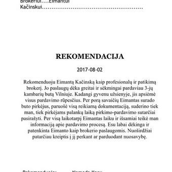 NT ekspertas Eimantas Kačinskas / Eimantas Kačinskas / Darbų pavyzdys ID 680777