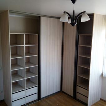 Stumdomos durys, spintos, drabužinės. Gamyba, projektavimas. / Egidijus / Darbų pavyzdys ID 681601