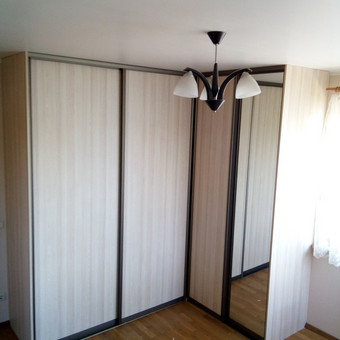 Stumdomos durys, spintos, drabužinės. Gamyba, projektavimas. / Egidijus / Darbų pavyzdys ID 681659