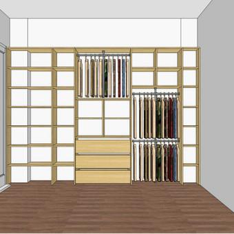 Stumdomos durys, spintos, drabužinės. Gamyba, projektavimas. / Egidijus / Darbų pavyzdys ID 681671