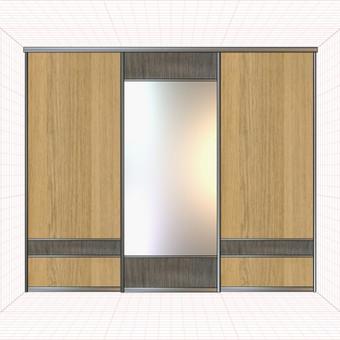 Stumdomos durys, spintos, drabužinės. Gamyba, projektavimas. / Egidijus / Darbų pavyzdys ID 681675