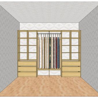 Stumdomos durys, spintos, drabužinės. Gamyba, projektavimas. / Egidijus / Darbų pavyzdys ID 681677