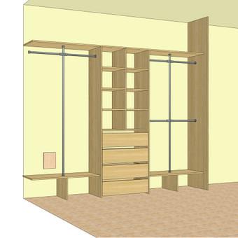 Stumdomos durys, spintos, drabužinės. Gamyba, projektavimas. / Egidijus / Darbų pavyzdys ID 681679