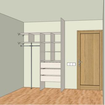 Stumdomos durys, spintos, drabužinės. Gamyba, projektavimas. / Egidijus / Darbų pavyzdys ID 681683