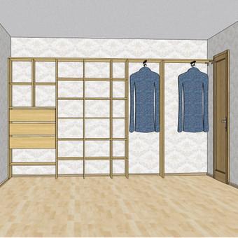 Stumdomos durys, spintos, drabužinės. Gamyba, projektavimas. / Egidijus / Darbų pavyzdys ID 681685