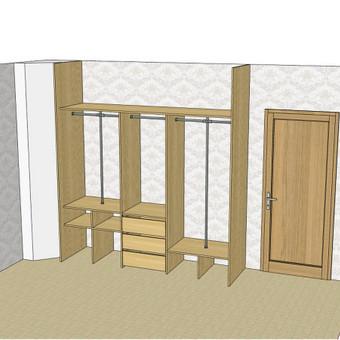 Stumdomos durys, spintos, drabužinės. Gamyba, projektavimas. / Egidijus / Darbų pavyzdys ID 681689