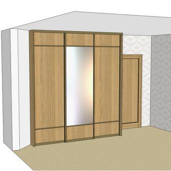 Stumdomos durys, spintos, drabužinės. Gamyba, projektavimas. / Egidijus / Darbų pavyzdys ID 681691