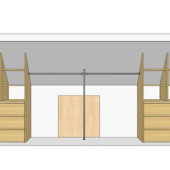 Stumdomos durys, spintos, drabužinės. Gamyba, projektavimas. / Egidijus / Darbų pavyzdys ID 681699