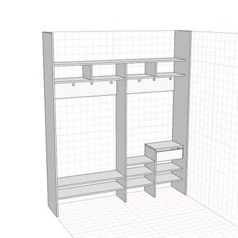 Stumdomos durys, spintos, drabužinės. Gamyba, projektavimas. / Egidijus / Darbų pavyzdys ID 681701