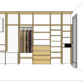 Stumdomos durys, spintos, drabužinės. Gamyba, projektavimas. / Egidijus / Darbų pavyzdys ID 681703