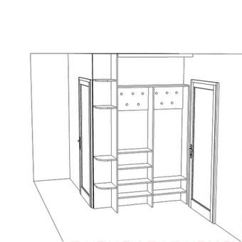 Stumdomos durys, spintos, drabužinės. Gamyba, projektavimas. / Egidijus / Darbų pavyzdys ID 681707