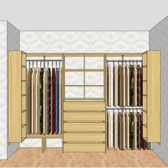 Stumdomos durys, spintos, drabužinės. Gamyba, projektavimas. / Egidijus / Darbų pavyzdys ID 681711