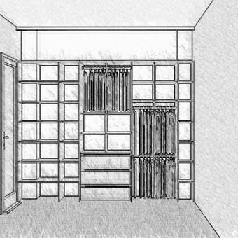 Stumdomos durys, spintos, drabužinės. Gamyba, projektavimas. / Egidijus / Darbų pavyzdys ID 681729