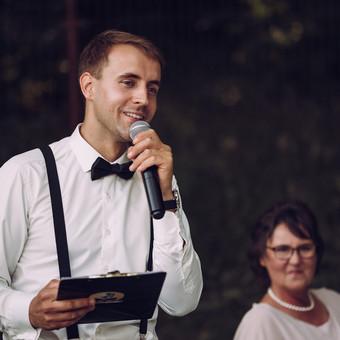 Renginių vedėjas Evaldas Jankantas kartu su DJ komanda / Evaldas Jankantas / Darbų pavyzdys ID 681733
