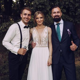 Renginių vedėjas Evaldas Jankantas kartu su DJ komanda / Evaldas Jankantas / Darbų pavyzdys ID 682549