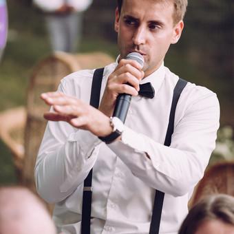 Renginių vedėjas Evaldas Jankantas kartu su DJ komanda / Evaldas Jankantas / Darbų pavyzdys ID 682553