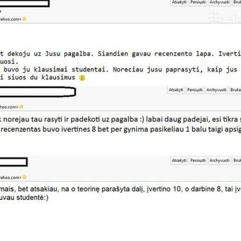 Patikima ir profesionali pagalba studentams / Irina P. / Darbų pavyzdys ID 683193