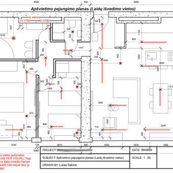 Interjero/eksterjero dizainas, 2D/3D projektavimas / Lukas Šakinis / Darbų pavyzdys ID 683399