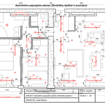 Interjero/eksterjero dizainas, 2D/3D projektavimas / Lukas Šakinis / Darbų pavyzdys ID 683401